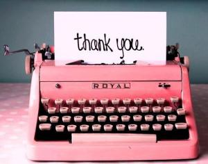portobello road thank you typewriter