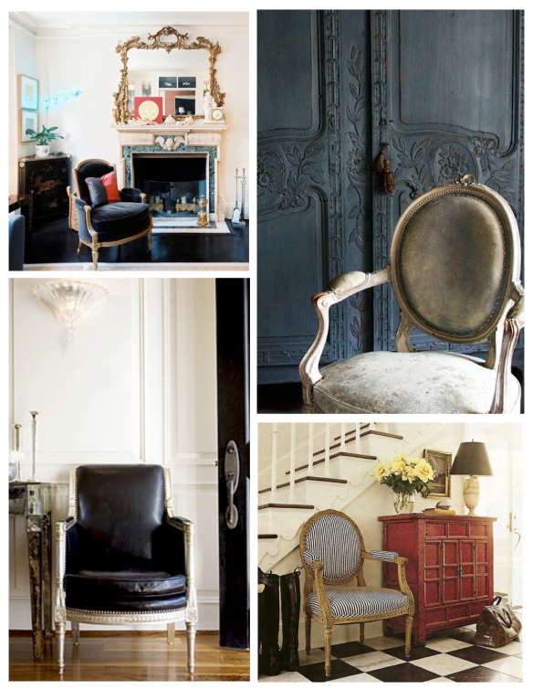 "French Design Influenced by Royalty:  The ""Louis "" Chair"