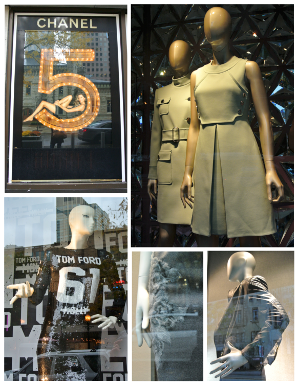 Fashion's Windows Of Chicago In October